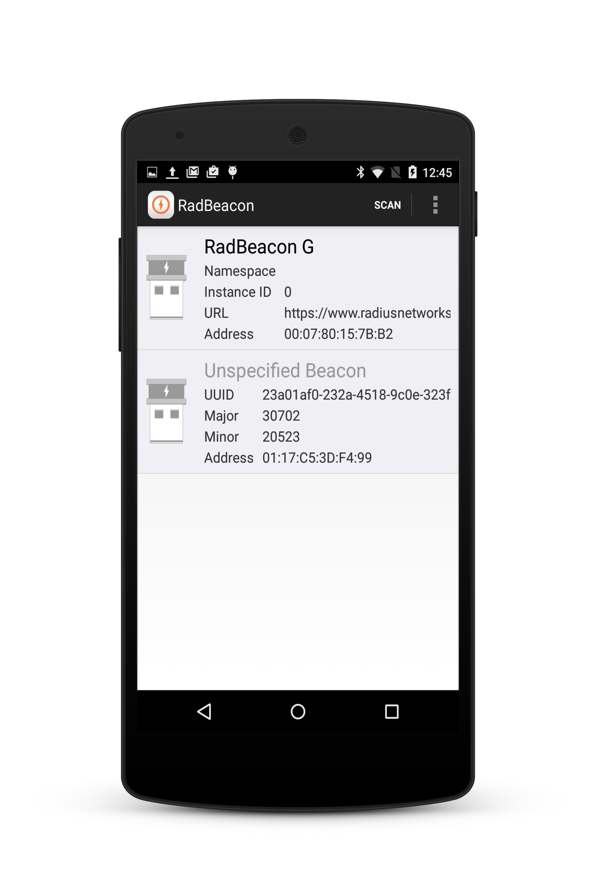 Configuring Developer Kit Beacons with Eddystone – Radius Networks